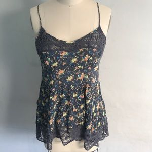 Intimately Free People Floral Lace Cami